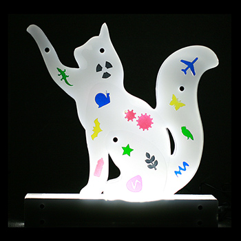 Lighting shape - cat