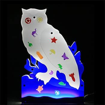 Lighting shape - owl