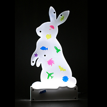 Lighting shape - rabbit